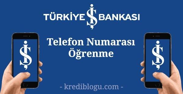 iş bankası telefon numarası güncelleme