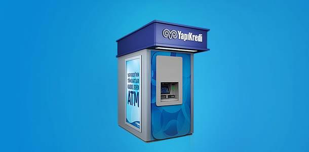 Yapı Kredi kartsız para çekme